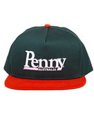Penny Orange and Dark Green Snapback